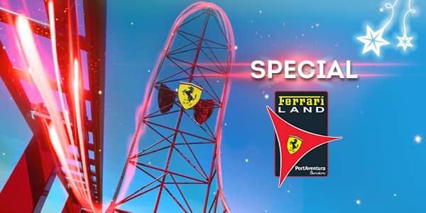 Promoción - Landing Principal Promociones - Nueva Promoción Tickets Ferrari DESDE 56€ (EN)