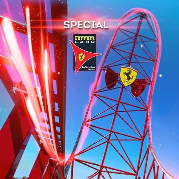 Promoción - Otras promociones - Nueva Promoción Tickets Ferrari DESDE 56€ (EN)