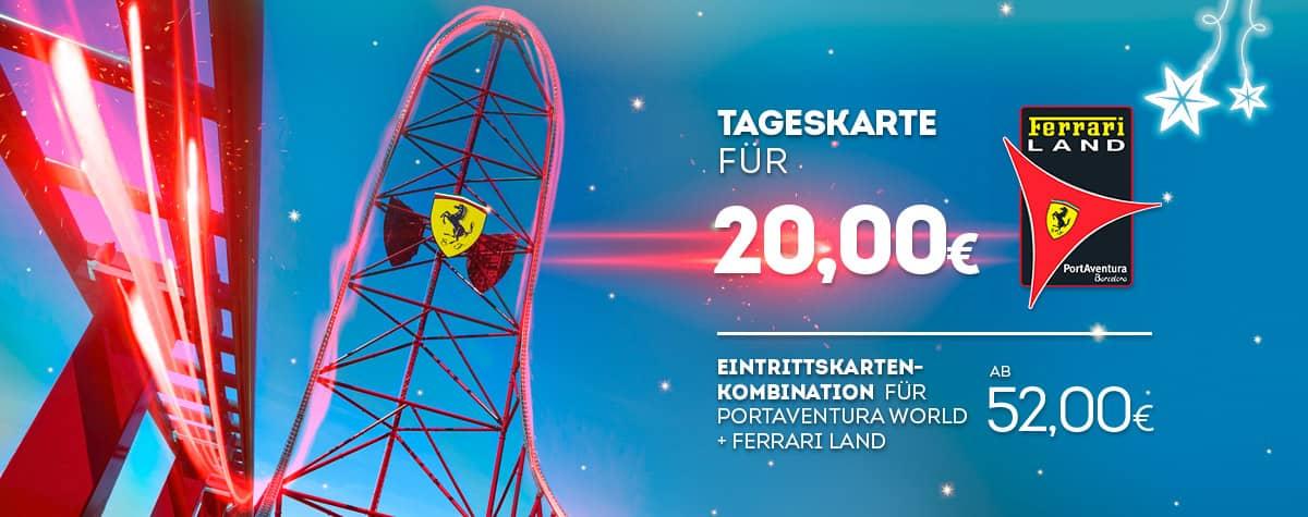 Home - Mosaico - Nueva Promoción Tickets Ferrari DESDE 56€ (DE)