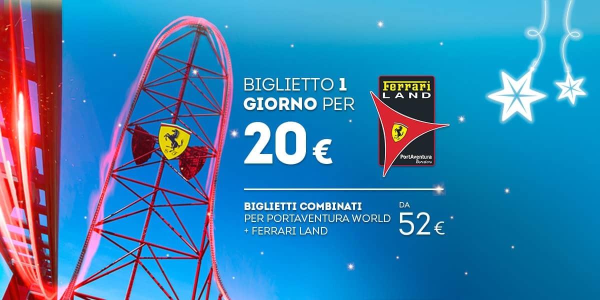 Promoción - Slider - Nueva Promoción Tickets Ferrari DESDE 52€ (IT)