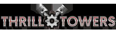 ferrari land - logos atracciones y juegos - thrill towers