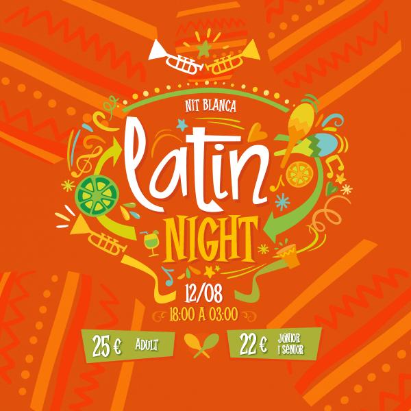 Noche Blanca - Latin Night - Mosaico Home (CA)