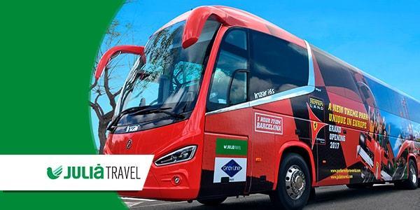 Traslados Barcelona - Excursiones Julià Travel