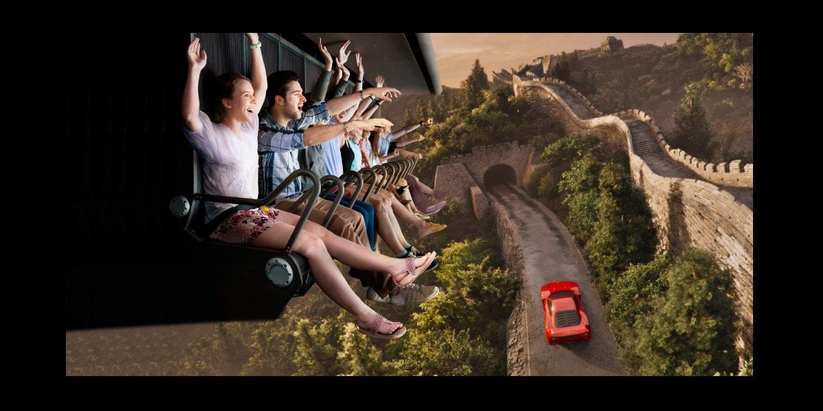 Flying Dreams Ferrari Land 1