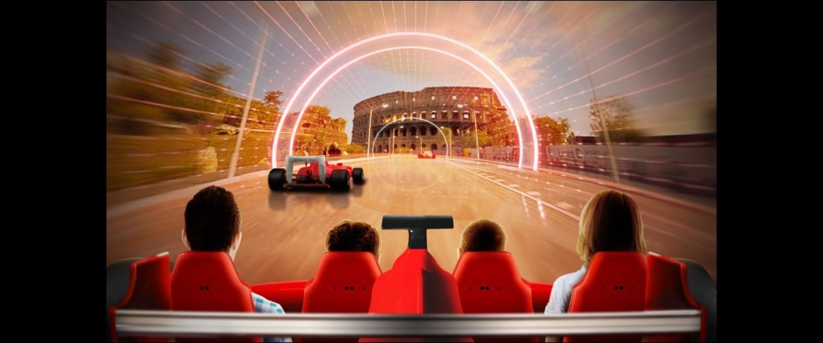 Racing Legends Ferrari Land 1