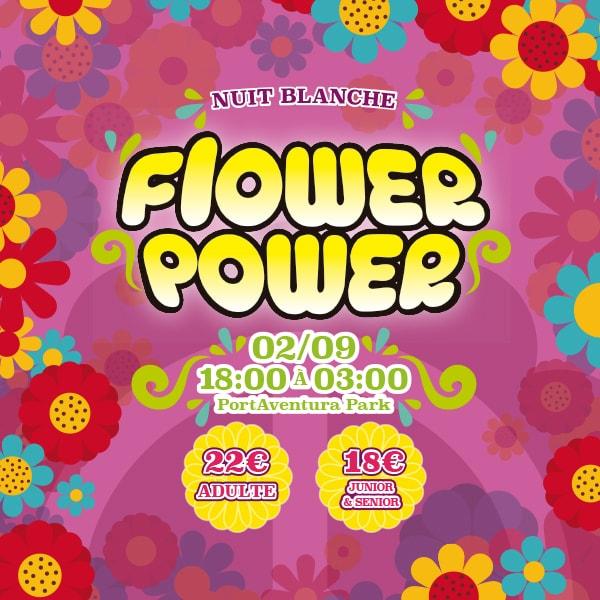 Noche Blanca - Flower Power - Mosaico Home (FR)