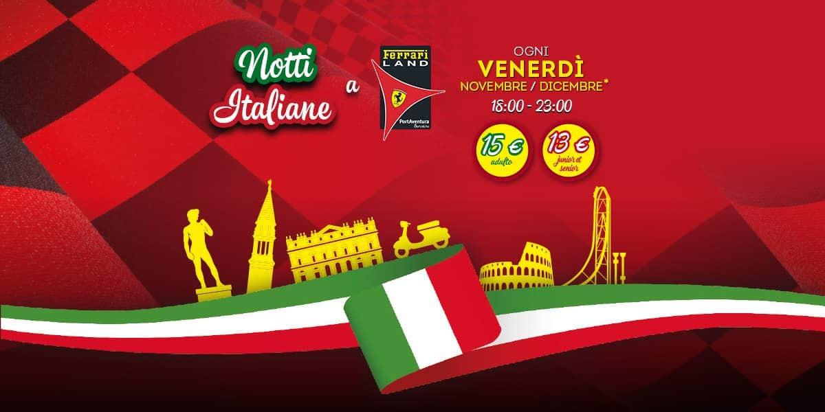 Noche Italiana Ferrari Land