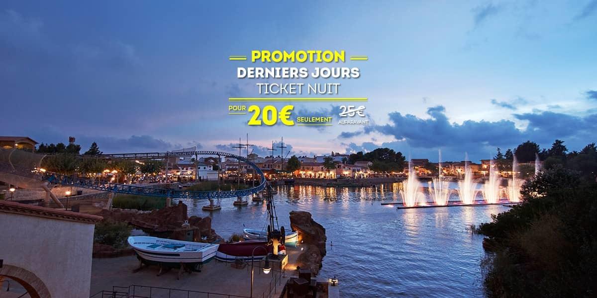 Promociones - Ticlet Noche 20€