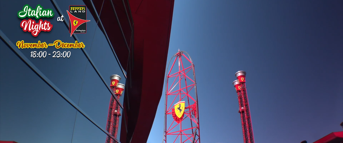 Noche Italiana - Ferrari Land 2017