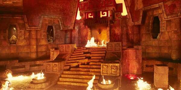 Templo del Fuego - Distributiva 2