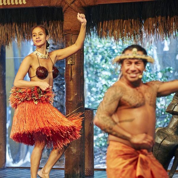 Espectáculos Pareos en Bora Bora Mosaico 3 piezas 2