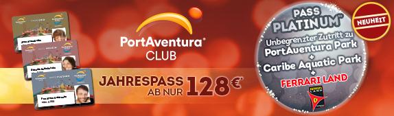 Pases Club PortAventura 2018