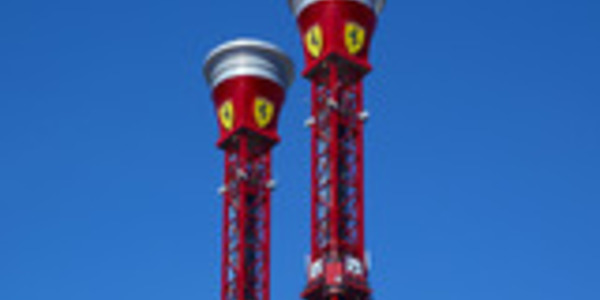 Bounce-Back Tower Ferrari Land