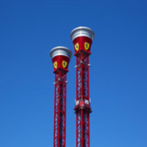 Bounce-Back Tower Ferrari Land