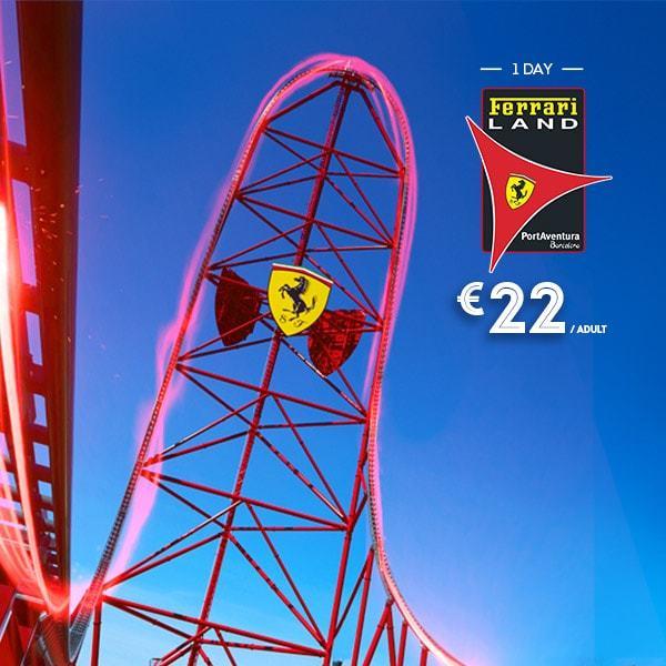 Ferrari Land Tickets Promotion