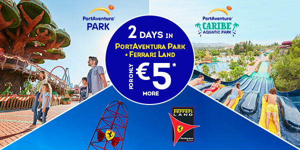 Benefits And Promotions PortAventura World - Billet port aventura groupon
