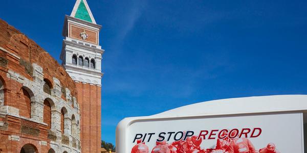 Pit Stop Record Ferrari Land