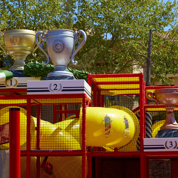Kids Podium Ferrari Land
