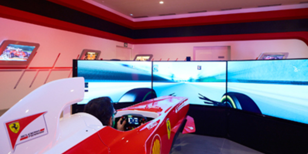 Pole Position Challenge Ferrari Land