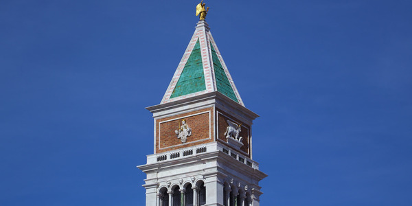 Campanile of San Marco Cathedral in Venice Ferrari Land