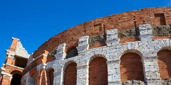 Colosseum in Rome Ferrari Land