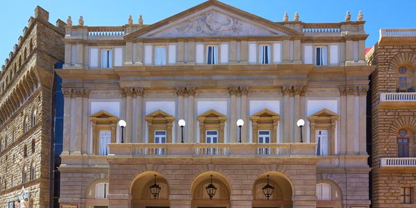 Theater La Scala von Mailand Ferrari Land