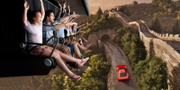 Flying Dreams Ferrari Land