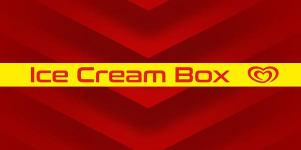 Ice Cream Box Ferrari Land