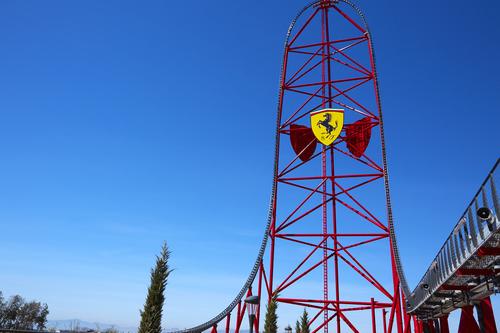 Red Force Photoride Ferrari Land
