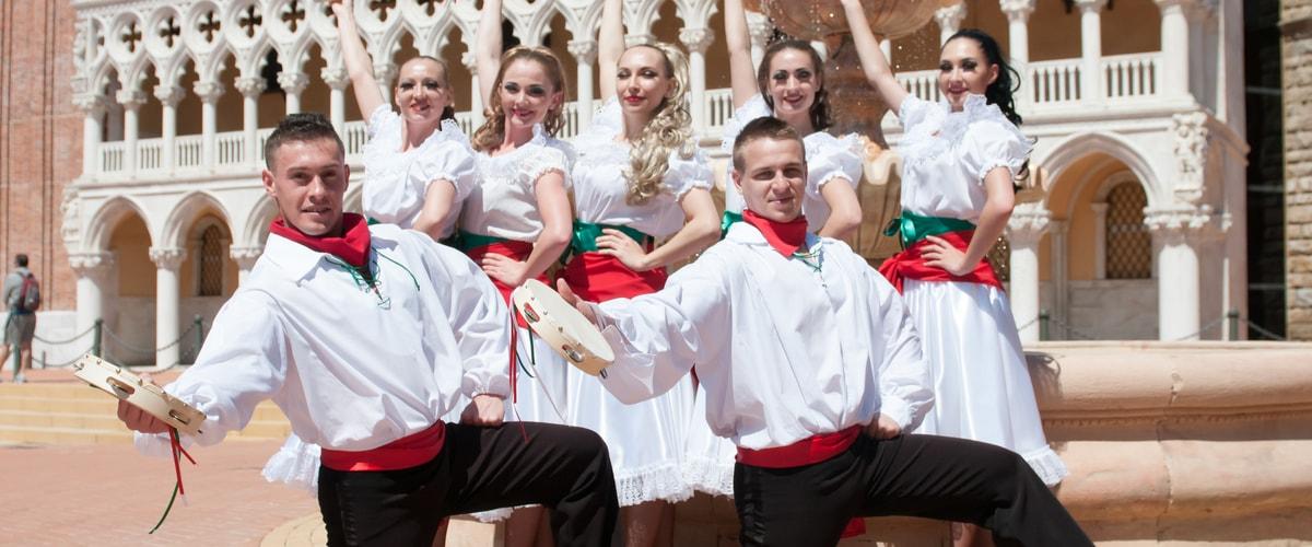 Espectaculos Folklore Italiano 1 PortAventura