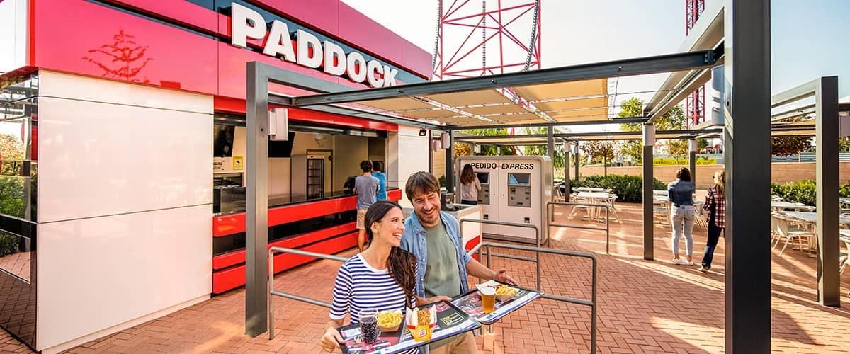 Paddock - Ficha PAW