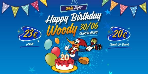 Birthday Woody PortAventura