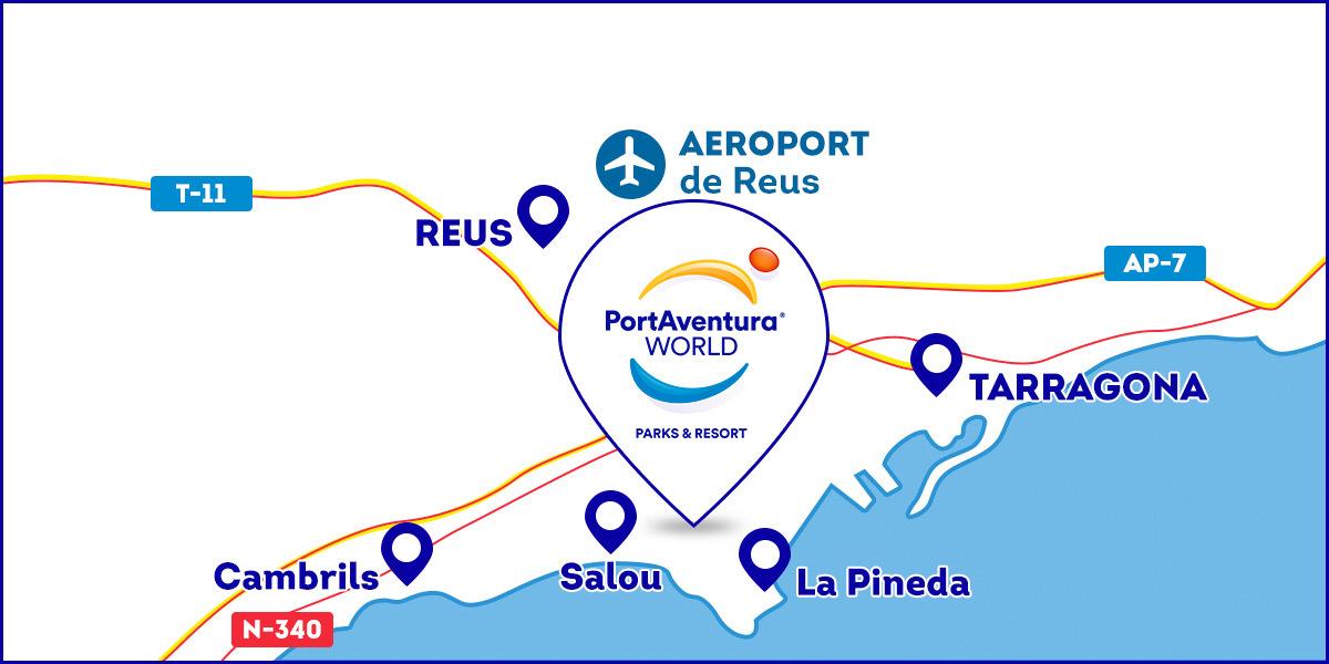 mapa como llegar PAW