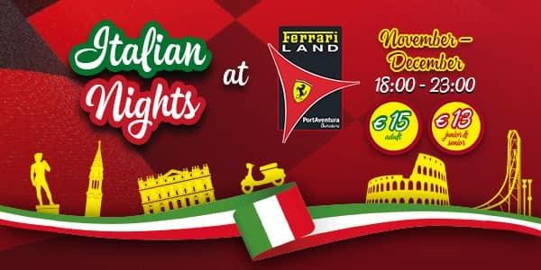 Noche italiana 600x300