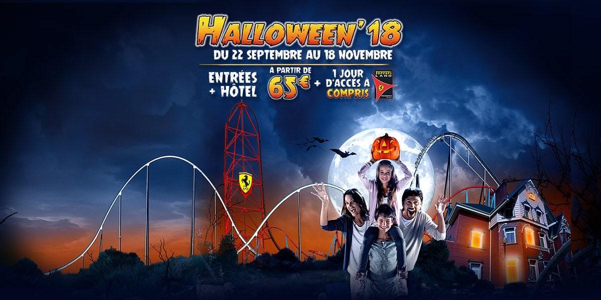 Halloween PortAventura entradas promoción 2018