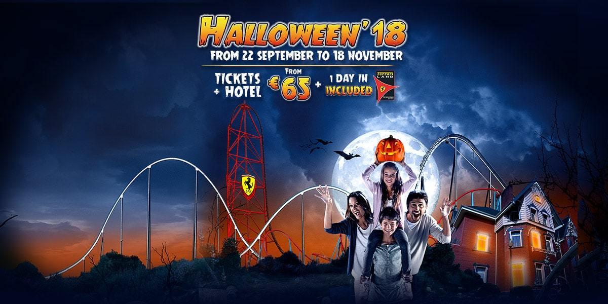 halloween portaventura entradas promocin 2018