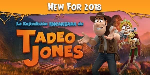 Espectáculo Halloween Tadeo Jones