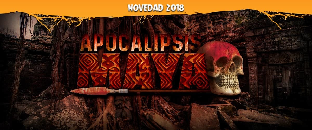 Apocalipsis Maya Halloween PortAventura