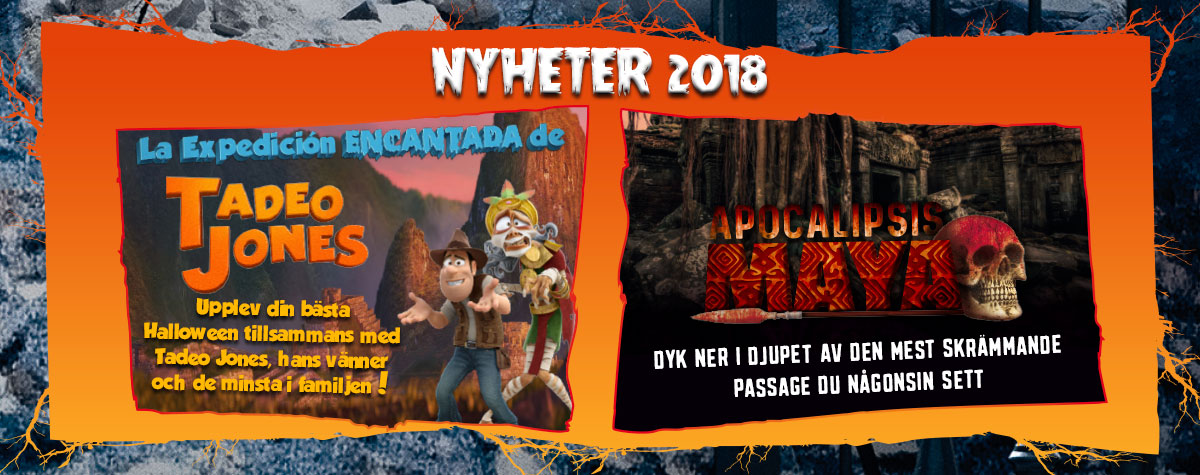 Novedades Halloween 2018