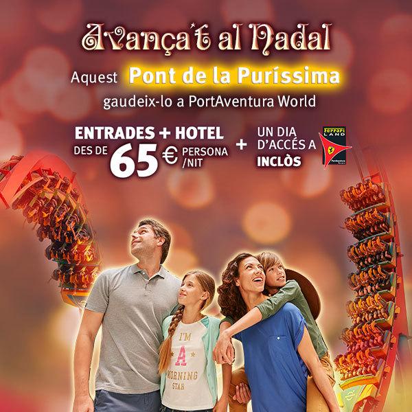 Purisima PortAventura entradas promoción