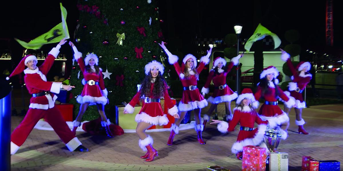 Espectaculo Navidad Ferrari