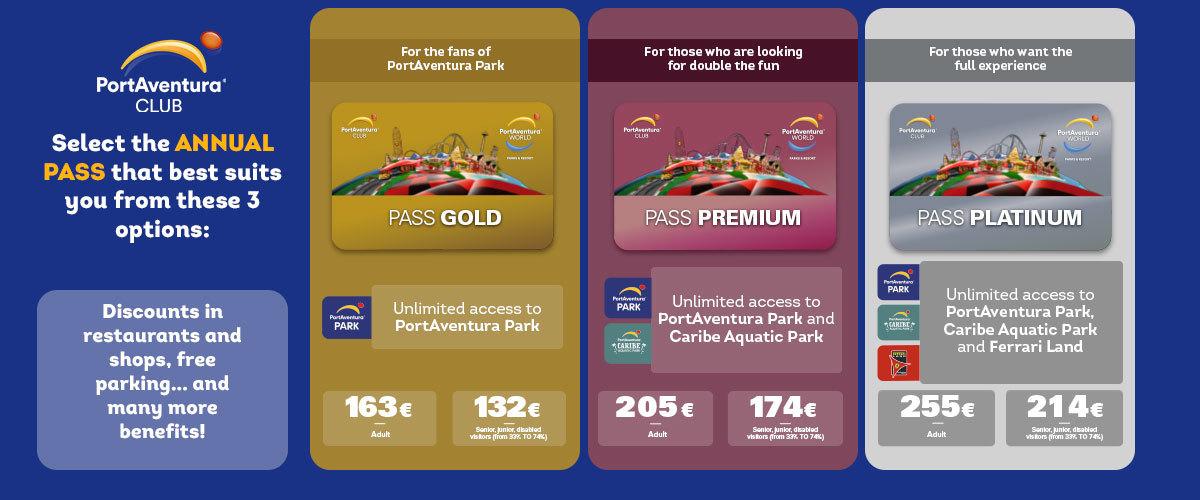Club Benefits - Platinum Pass