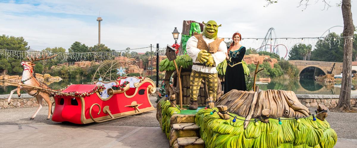 Espectáculo Navidad Shrek