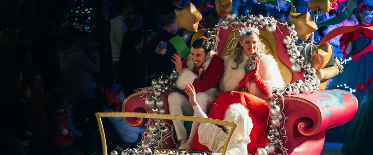 espectaculos navidad Portaventura