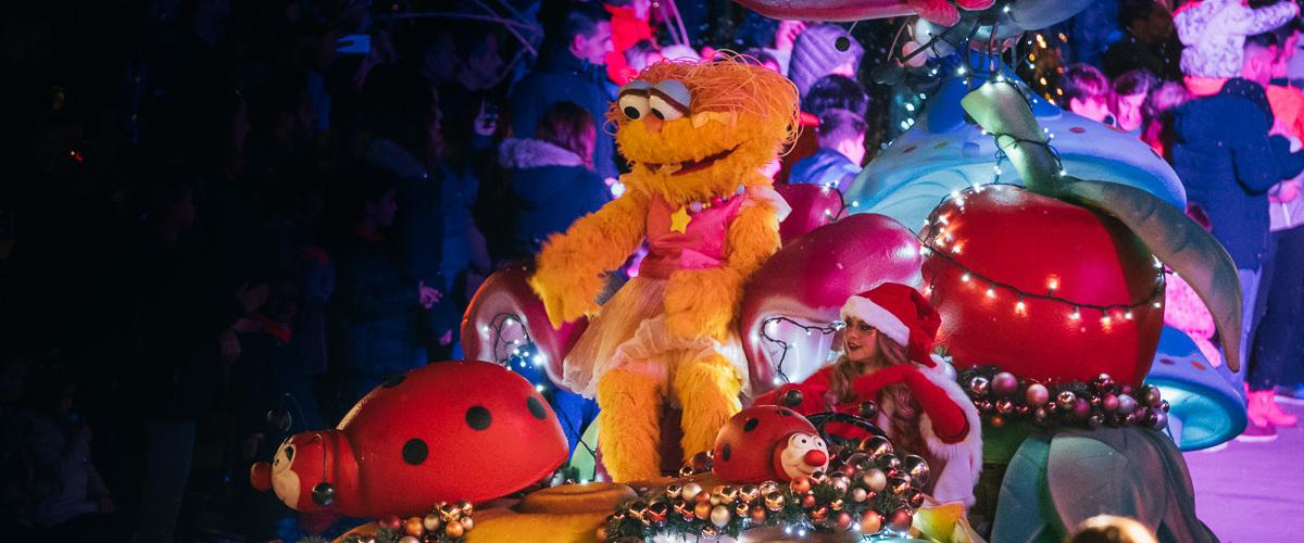 Espectáculo Navidad PortAventura