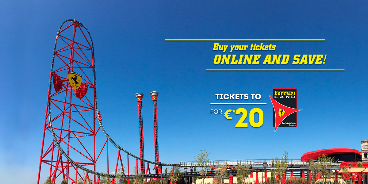 Ferrari Land Tickets Promotion