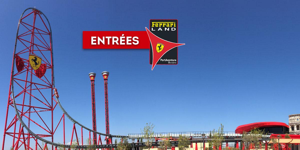 Entrees Ferrari Land Le Seul Parc En Europe Dedie A Ferrari