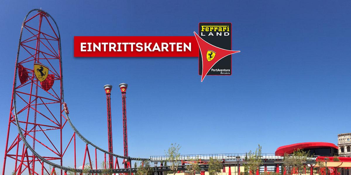 Eintrittskarten Ferrari Land Der Einzige Park In Europa Ganz Im Zeichen Ferraris