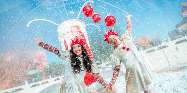 Espectaculo Navidad Burbuja Deseos