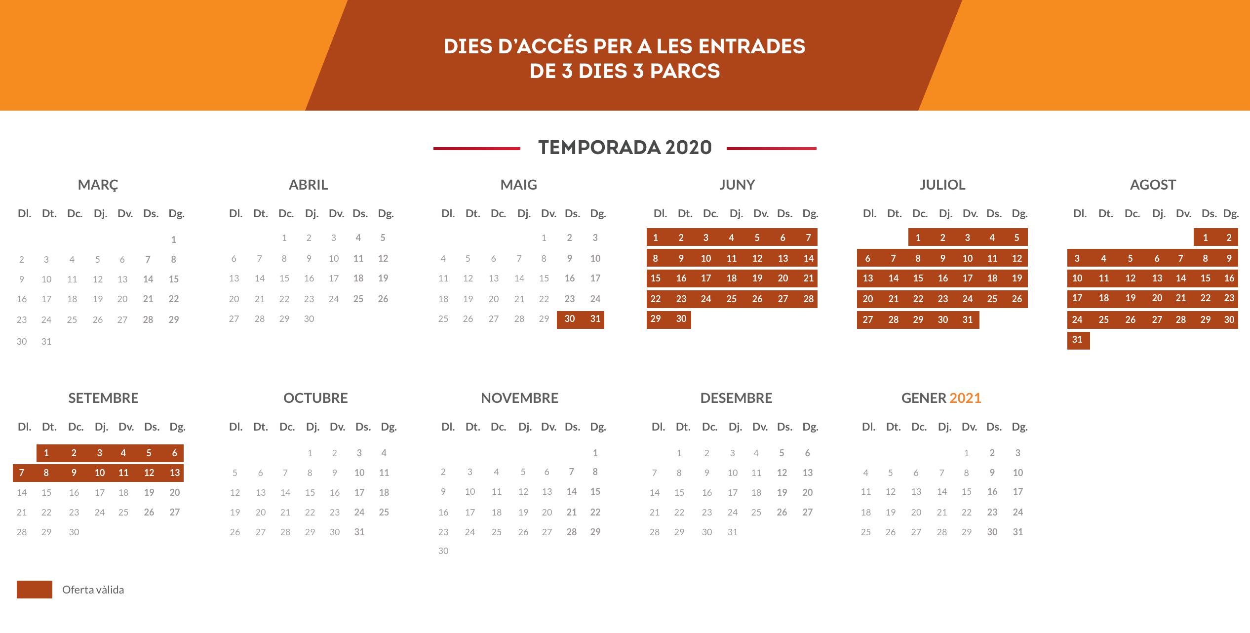 Calendario CA